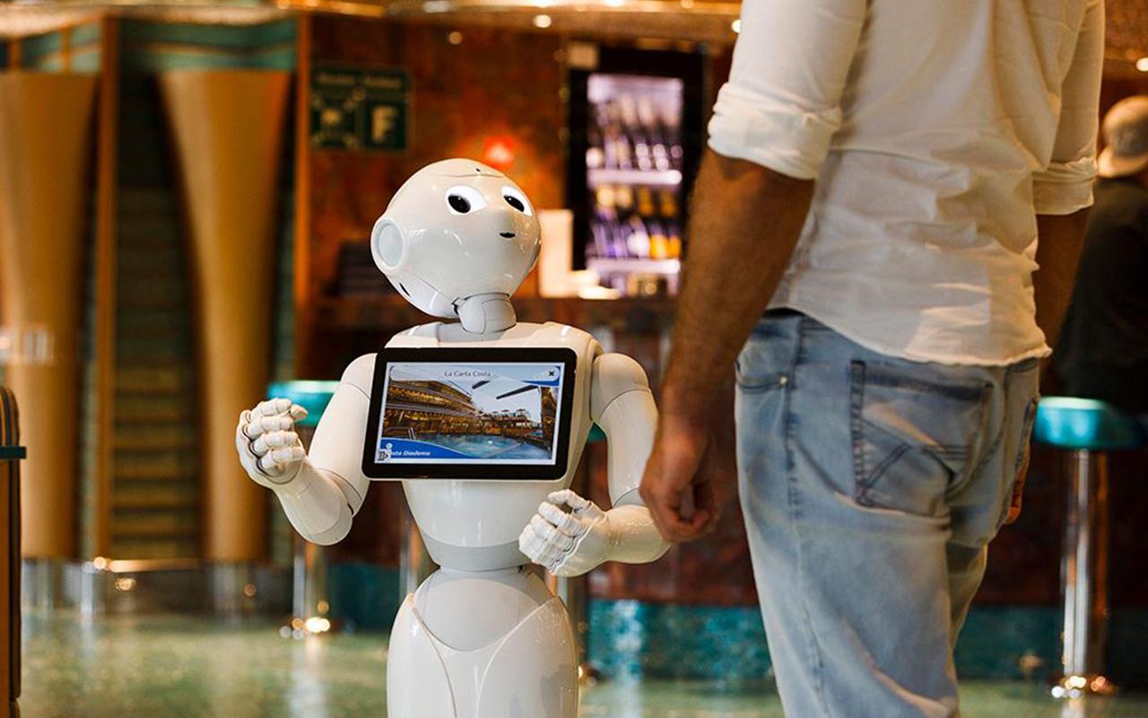 pepper robot costa cruises