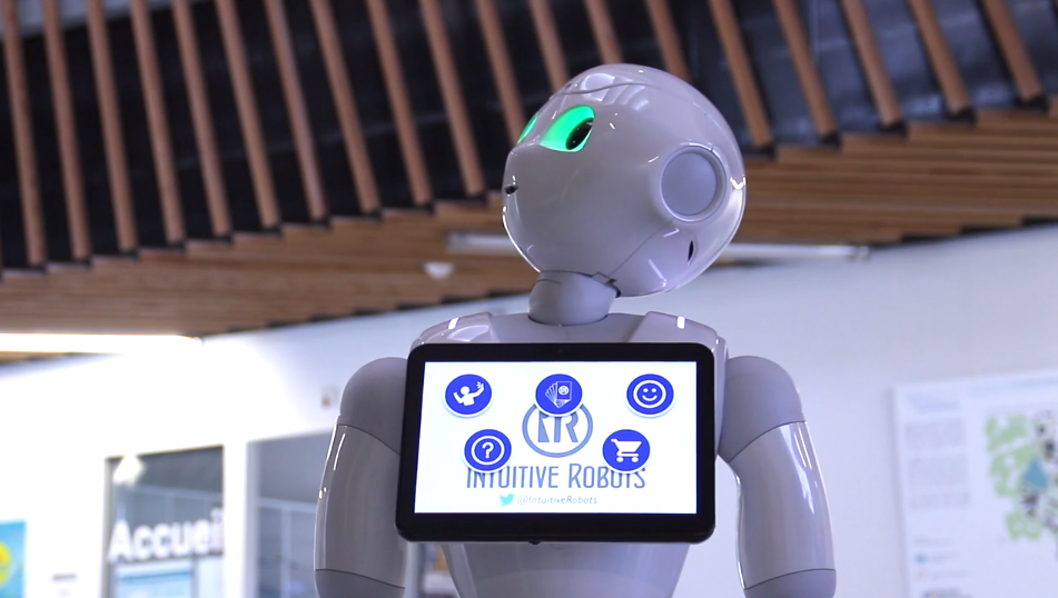 purchase pepper with intuitive robots