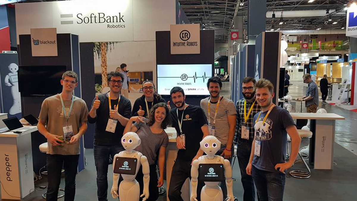 intuitive robots team vivatech 2018