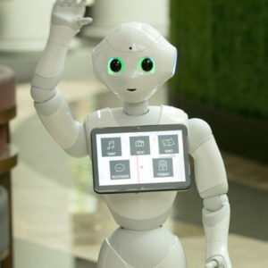 intuitive robots pepper