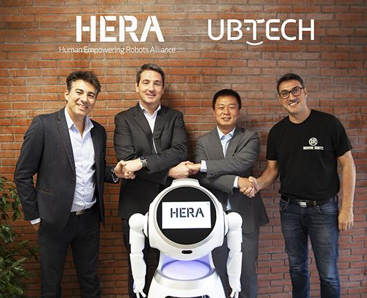 HERA UBTECH partnership