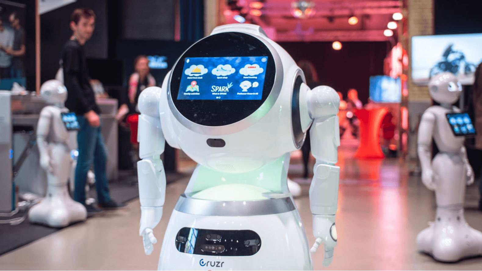 cruzr robot professional services