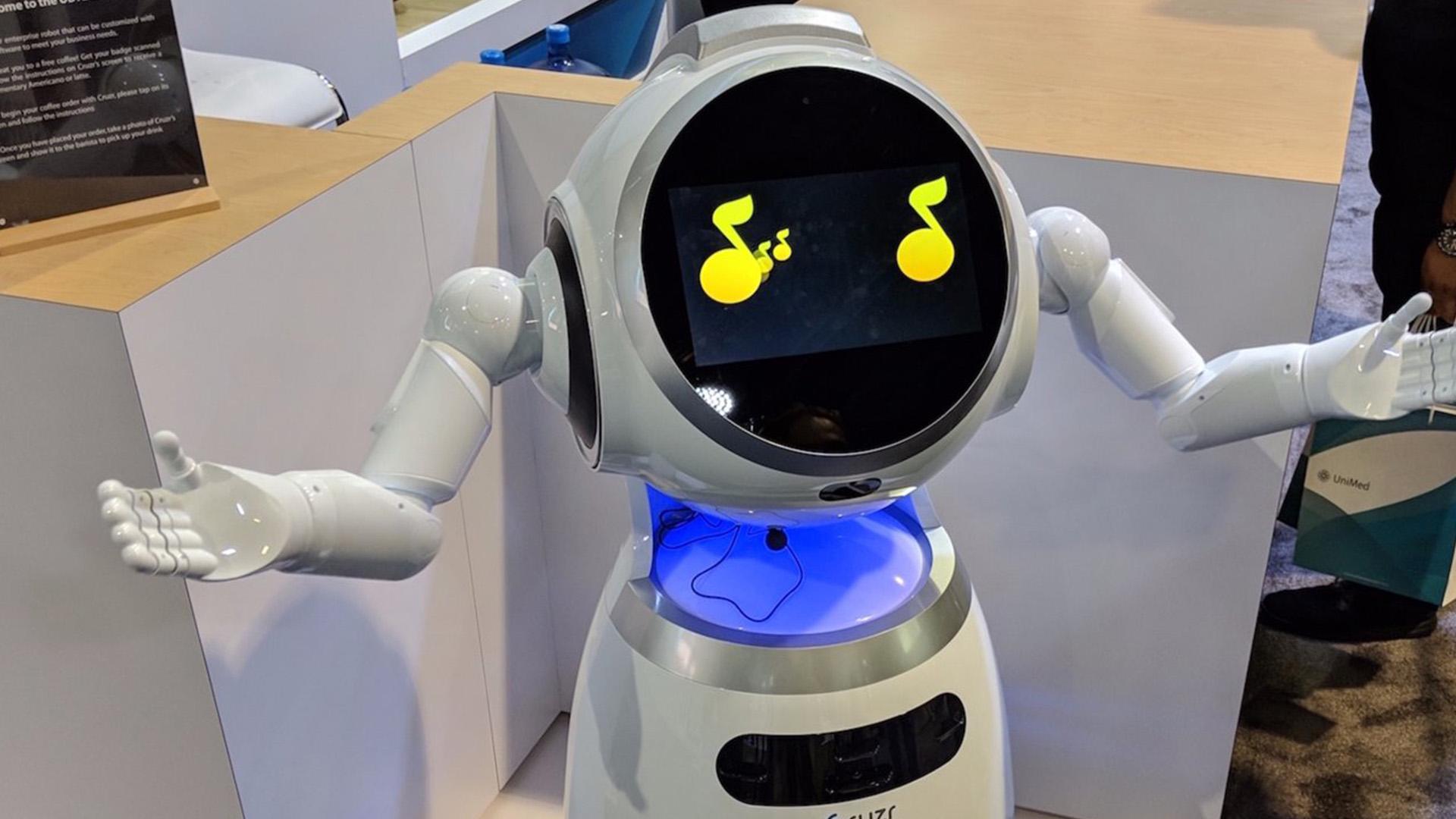 cruzr robot entertainment