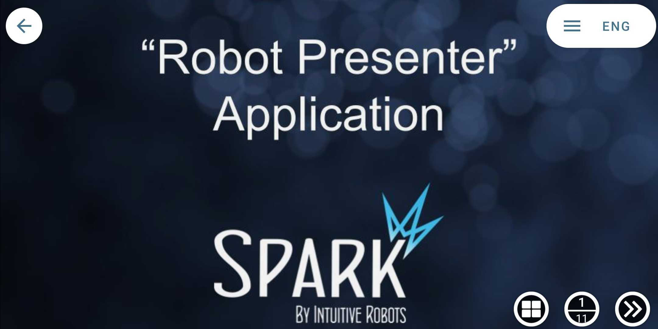 robot presenter 8