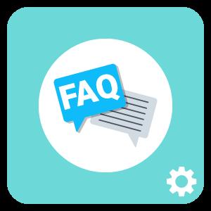 receptionist FAQ template