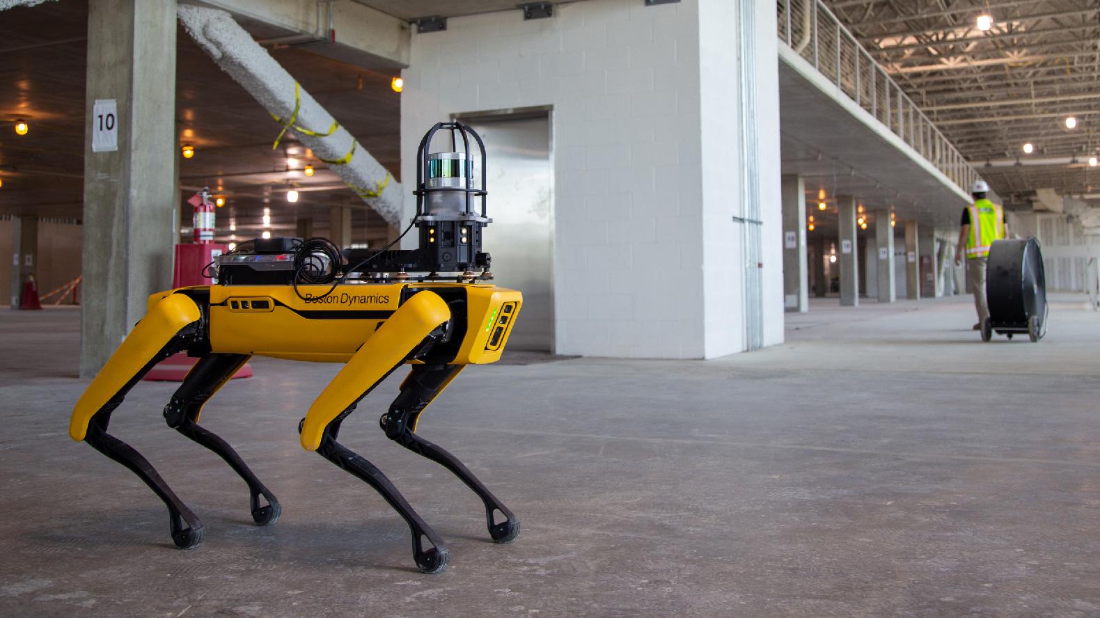 Spot Robot Construction