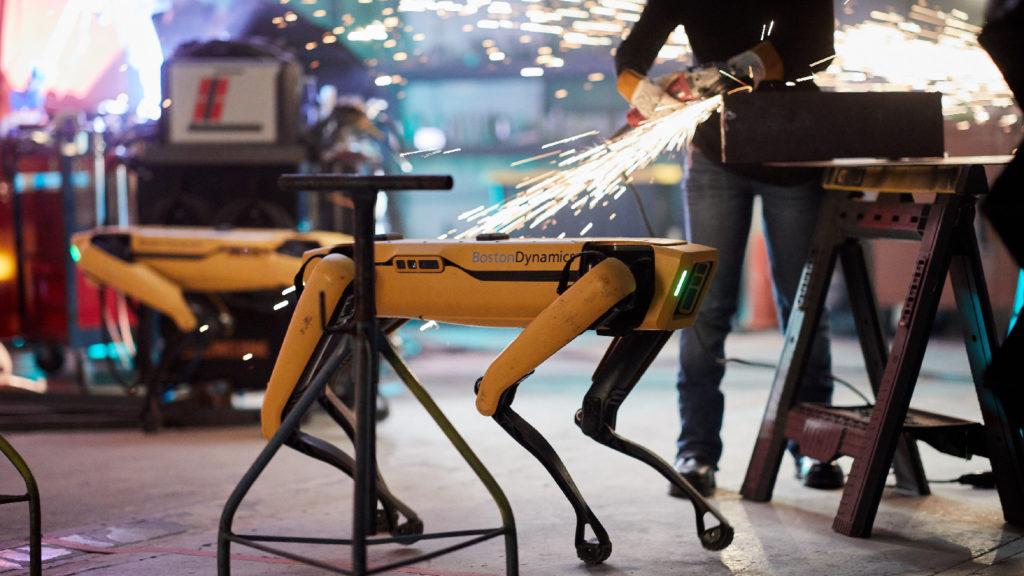Spot Robot Workers