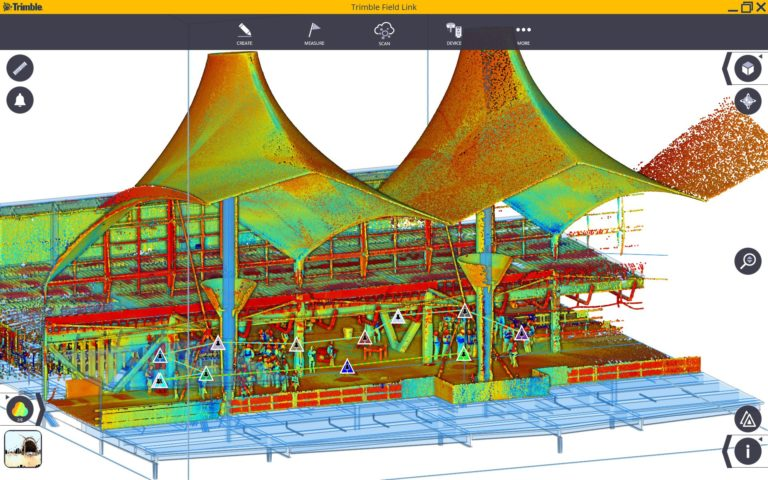 Scan 3D aéroport Denver