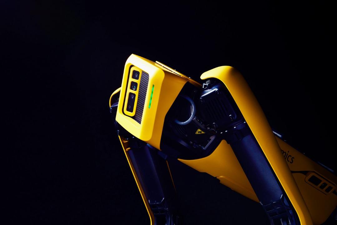 robot spot explorer