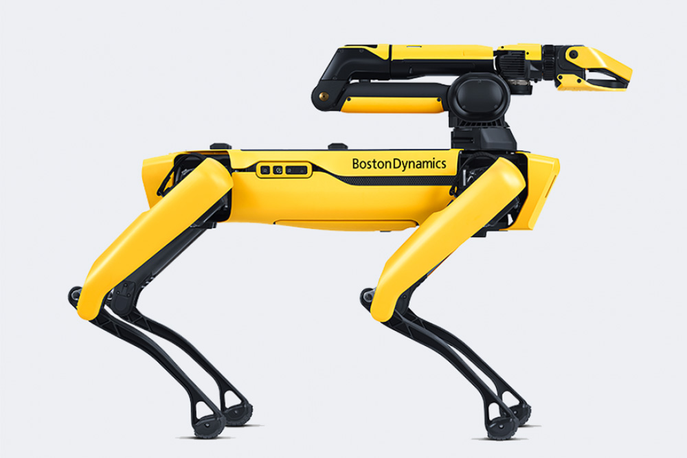 boston dynamics arm spot