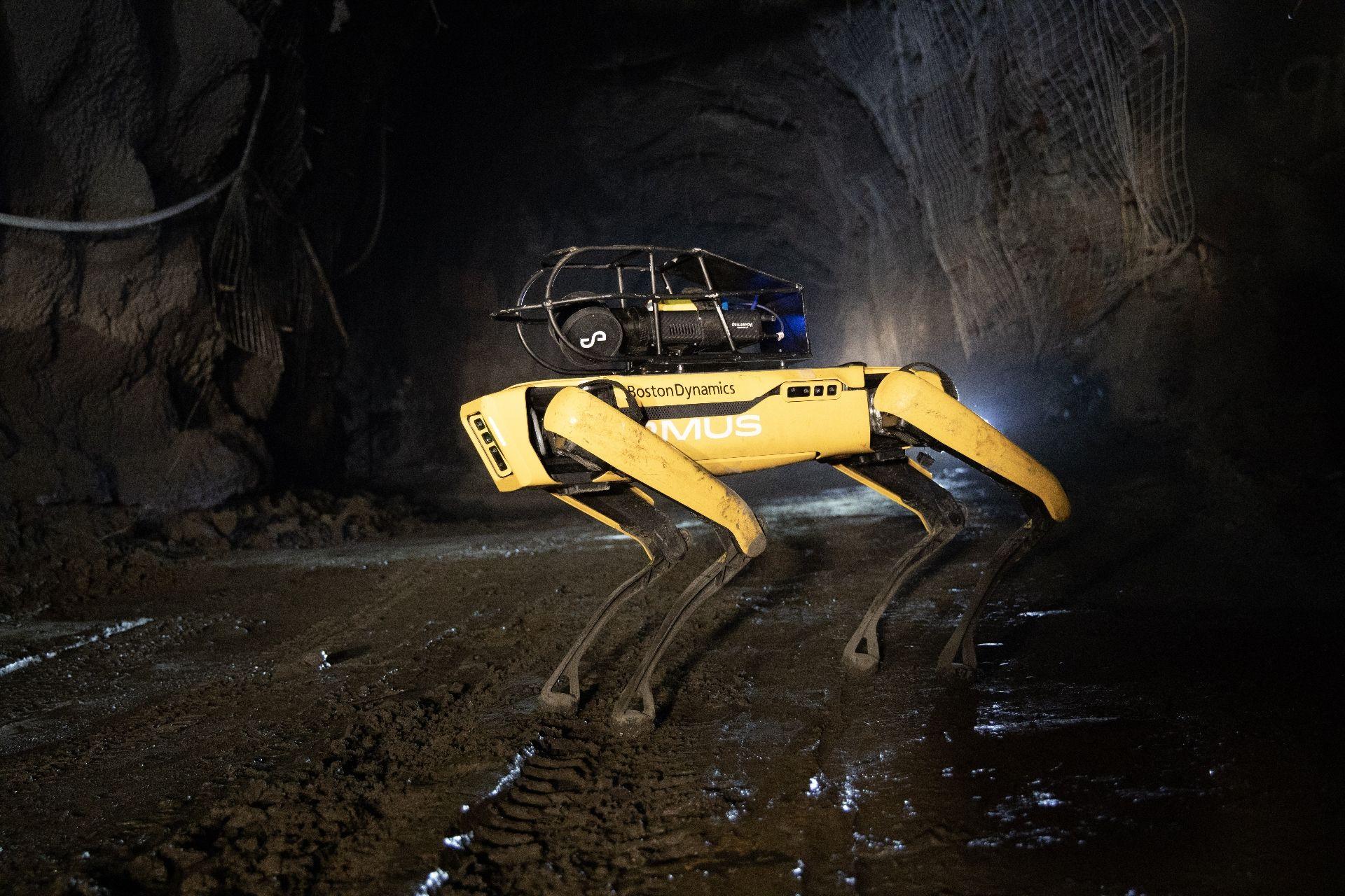 robot spot mines