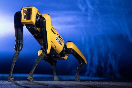 robot spot lkab