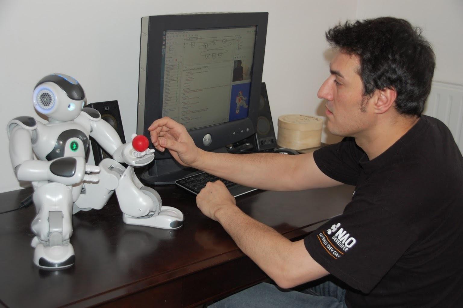 franck calzada intuitive robots founder