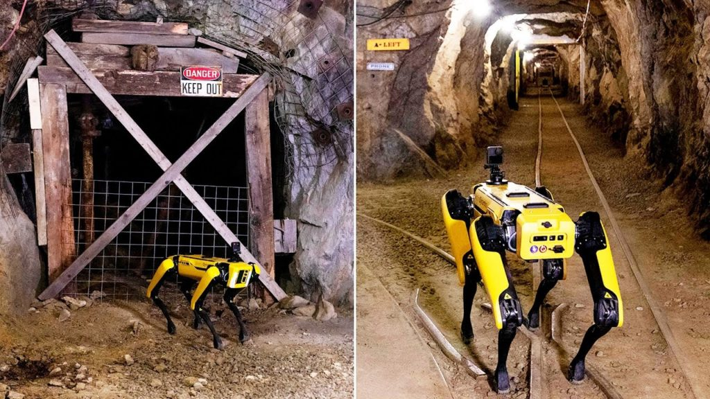 robot spot colorado school mines