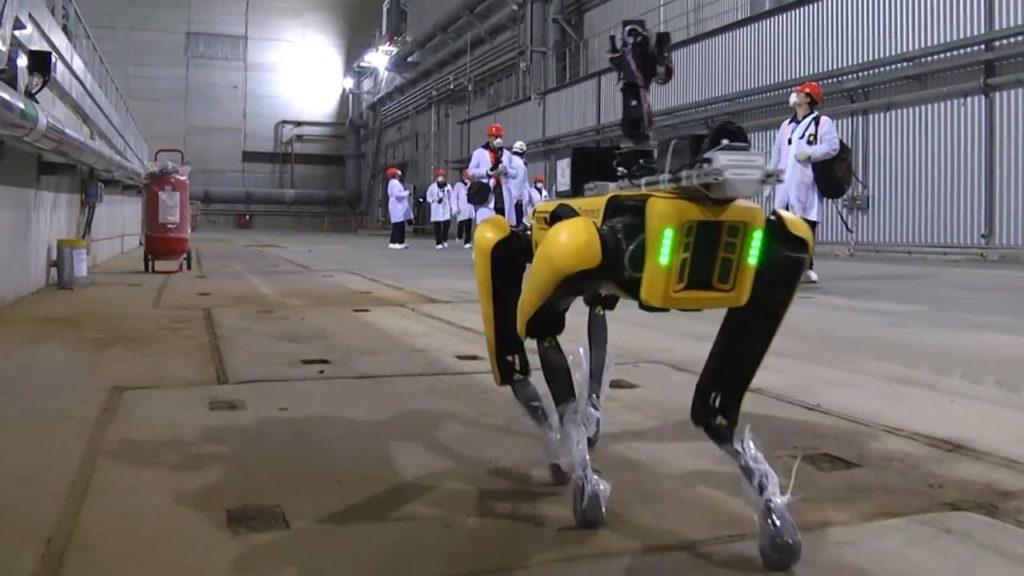 Le robot Spot facilite l'inspection dans l'industrie nucléaire