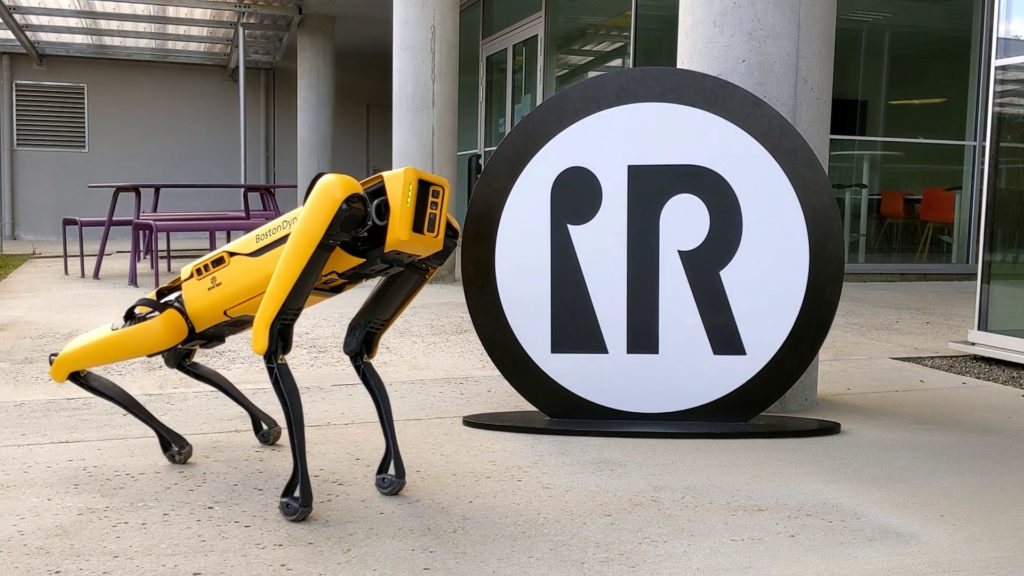 robot spot intuitive robots