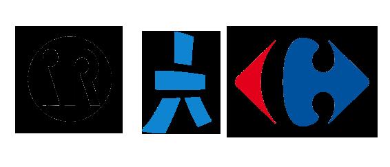 Logos_Carrefour_Aldebaran_Intuitive_Robots